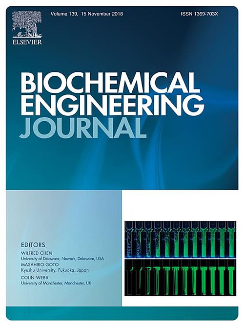 Cover in Biochemical Engineering Journal