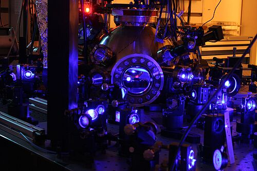 Research apparatus of the Cluster QuantumFrontiers