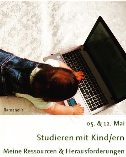 Baby am Laptop
