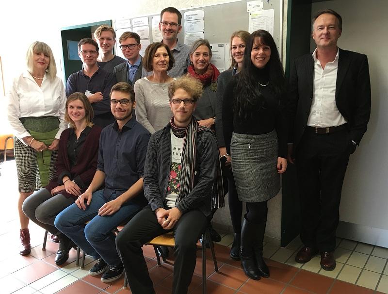 Gruppenbild Abteilung Neuere deutsche Literatur