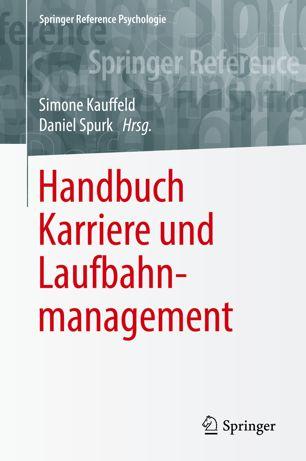 Cover des Buches Karriere und Laufbahnmanagement
