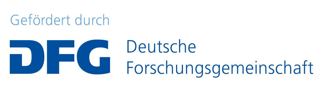 Logo der DFG