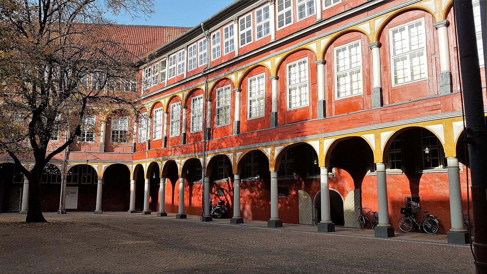 Innenhof des Wolfenbüttler Schlosses