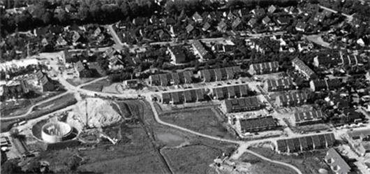 Luftbild Bau der Anlage