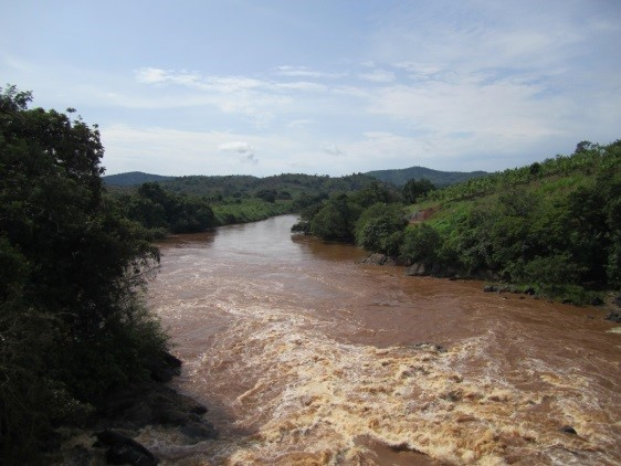 Mbam river, Cameroon