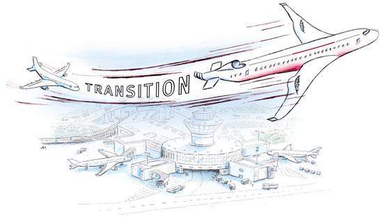 LogoEnergiewende in der Luftfahrt