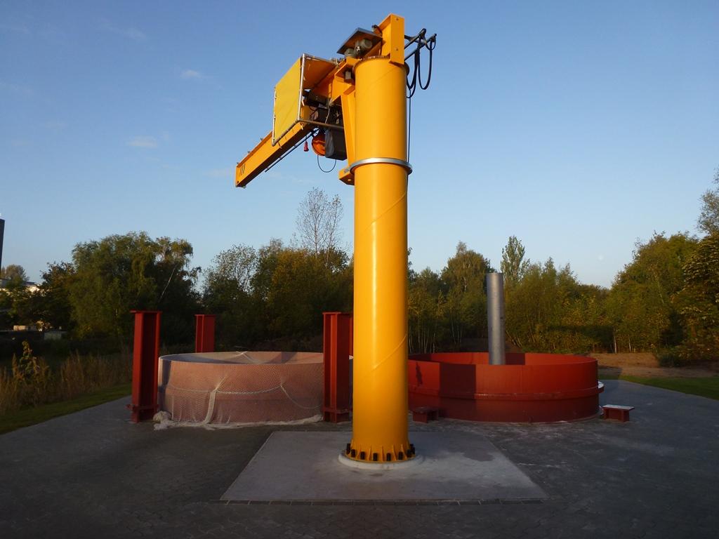 geotechnische Versuchströge des IGB-TUBS (Außengelände)