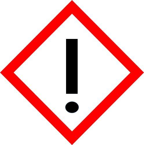 Gefahrstoffsymbol Achtung