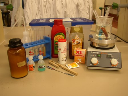Materialien für den Zuckernachweis
