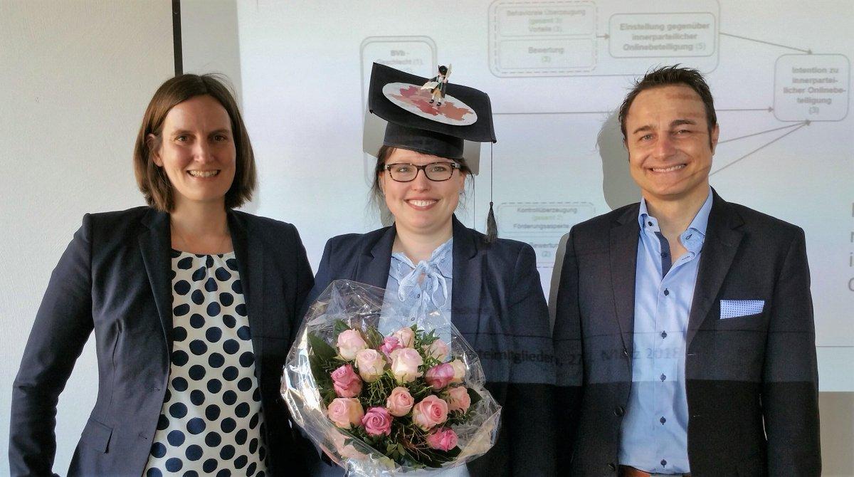 Erfolgreicher Promotionsvortrag von Annika Döweling