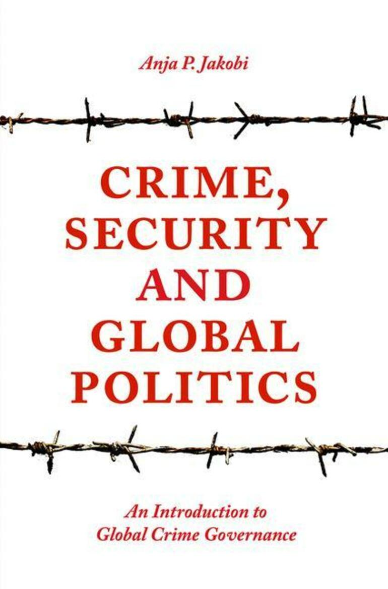 Buchcover Crime, Security and Global Politics
