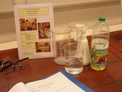 Materialien für die Herstellung von Kunstmilch
