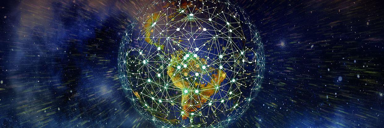 vernetzte Erde