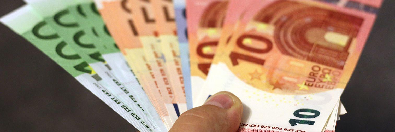 Geld, Euro, Fördermittel