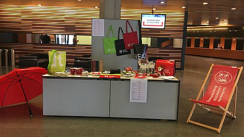 Verkaufsstand in der Stadthalle Braunschweig