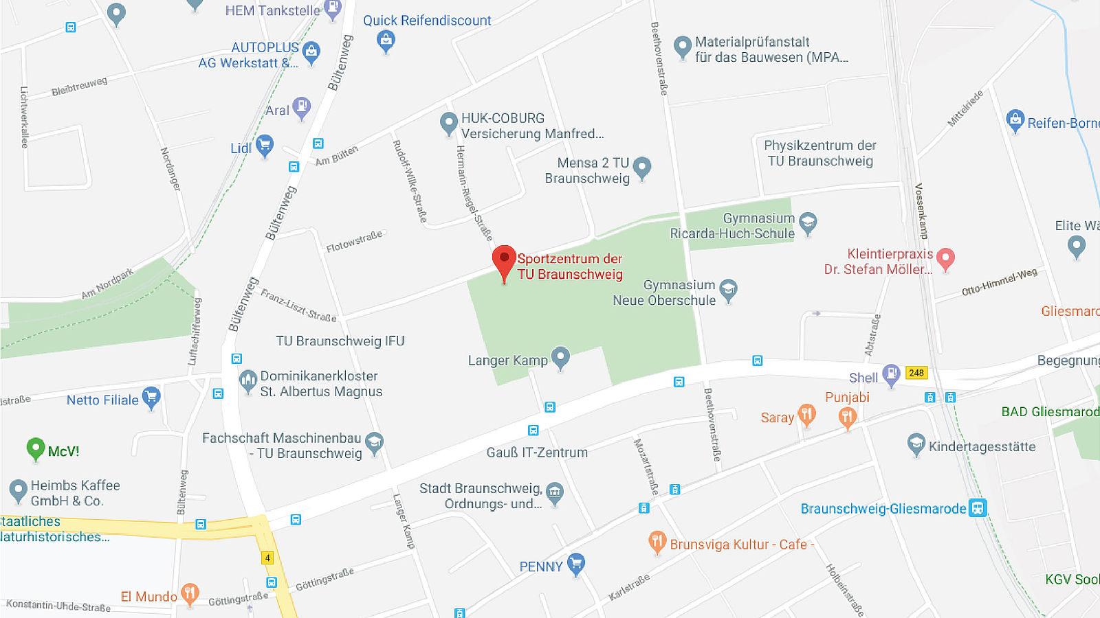 Google Maps Franz-Liszt-Straße