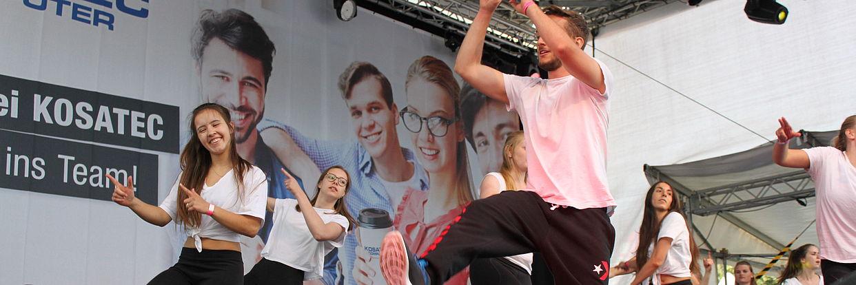 UniSportFest Bühne