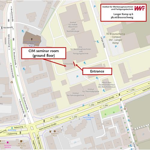Location of CIM Seminar Room