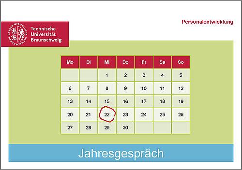 Kalender Jahresgespräch TU Braunschweig