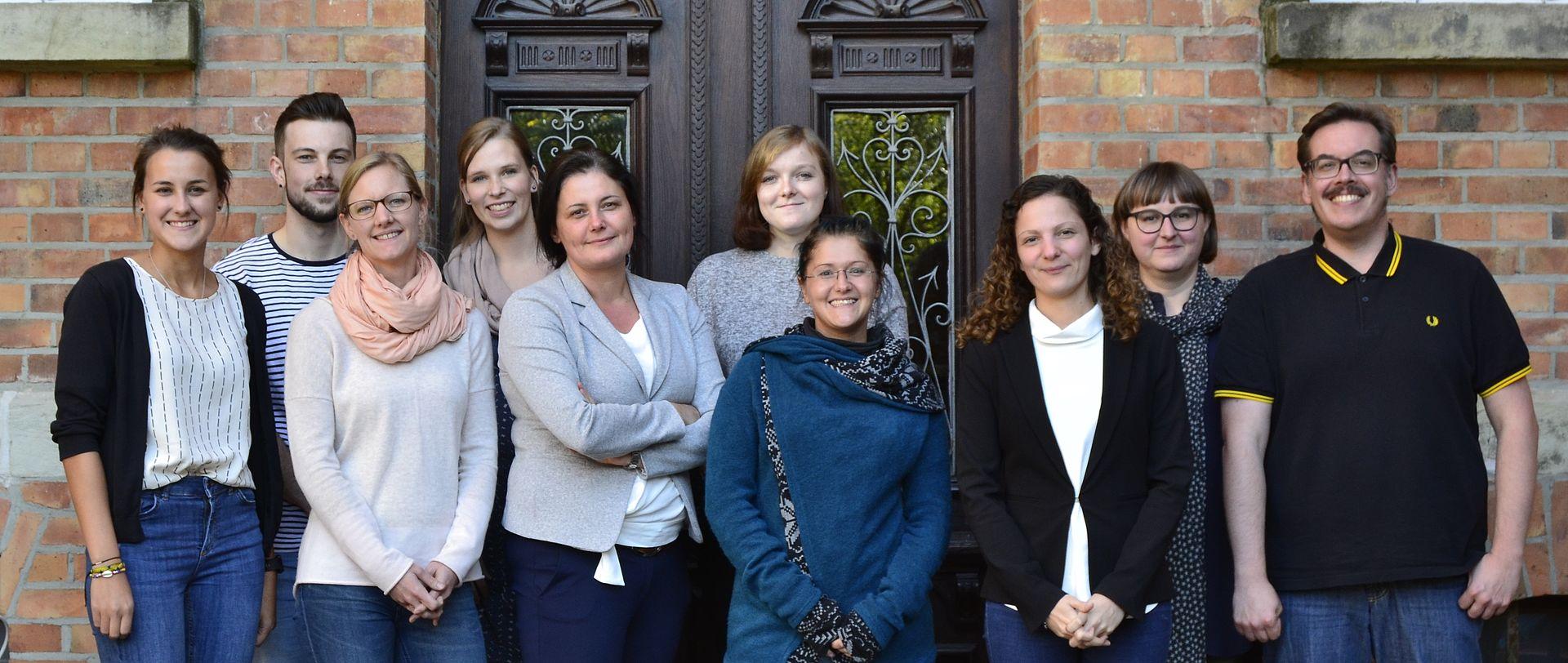 Team des Lehrstuhls IB auf Research Away Day