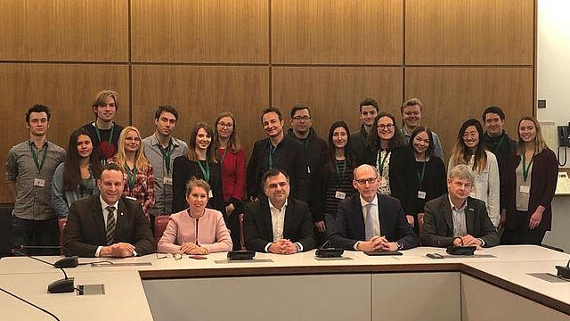 Besuch des Landtags 2019