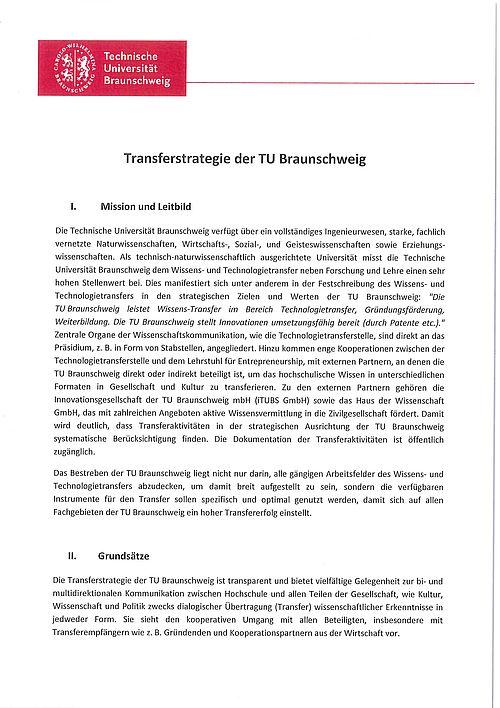 Transferstrategie TU BS-Bild
