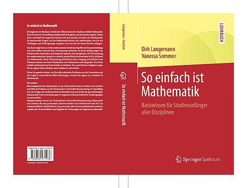 """Buchcover """"So einfach ist Mathematik"""""""