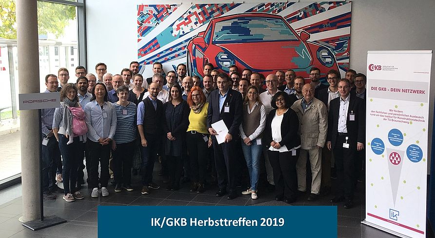 Gruppenfoto des IK/GKB Herbsttreffens