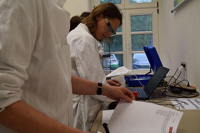 Lehrerfortbildung Gaschromatographie