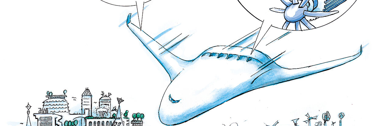 SE2A Zukunftsflugzeug