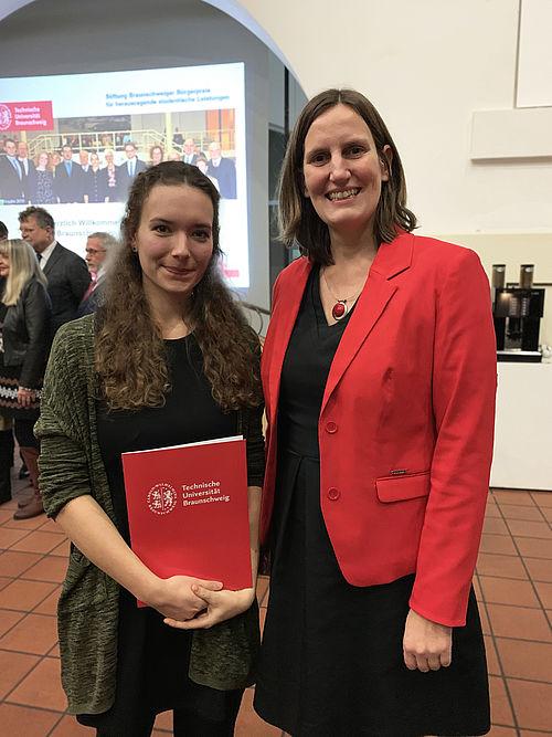 Julie Lüpkes, Trägerin des Braunschweiger Bürgerpreises 2019