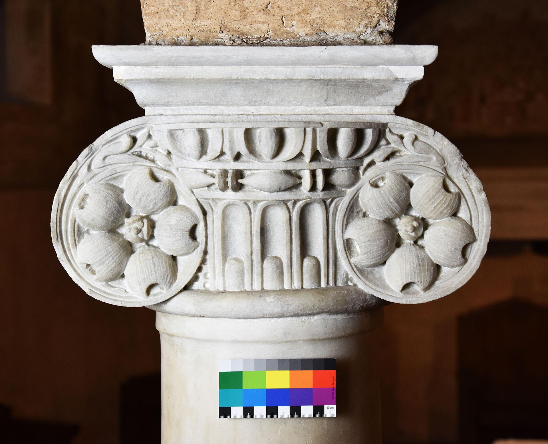 Foto des Kapitells S-2 in Fiesole