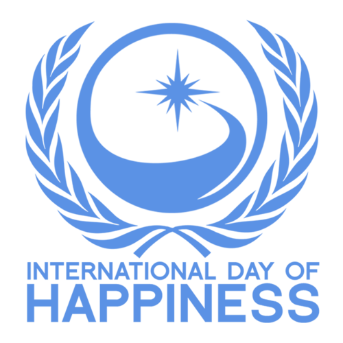 offizielles UN-Logo zum International Day of Happiness
