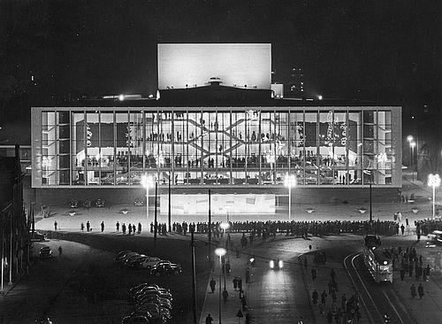 Einweihung der Städtischen Bühnen Gelsenkirchen am 15. Dezember 1959