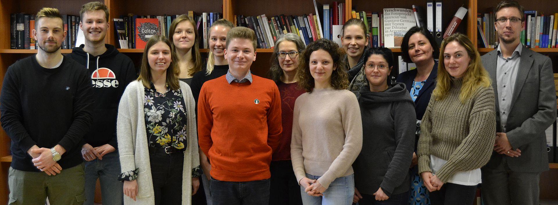 Teamfoto IB Lehrstuhl Feb 2020