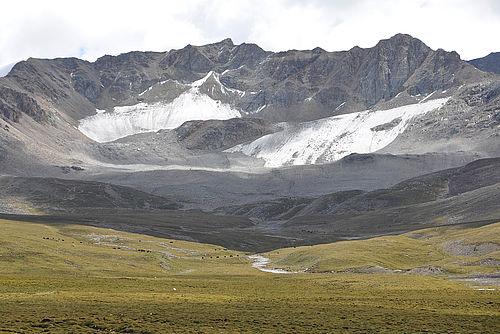 Zhadang Gletscher am Nam Co, Tibet