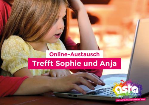 Online-Austausch Studis mit Kind