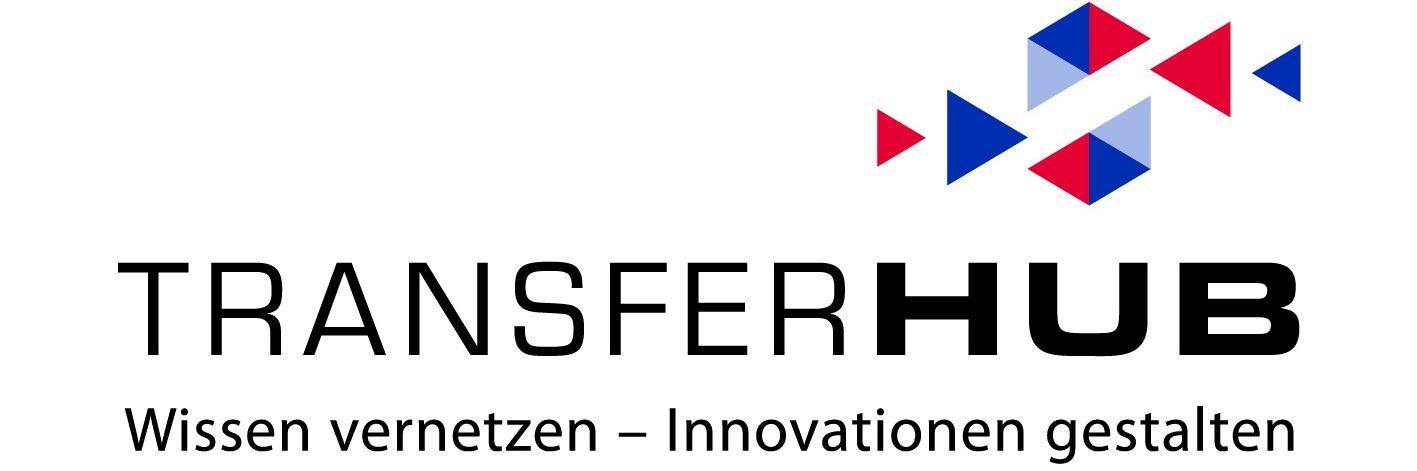 Logo mit Claim TransferHUB