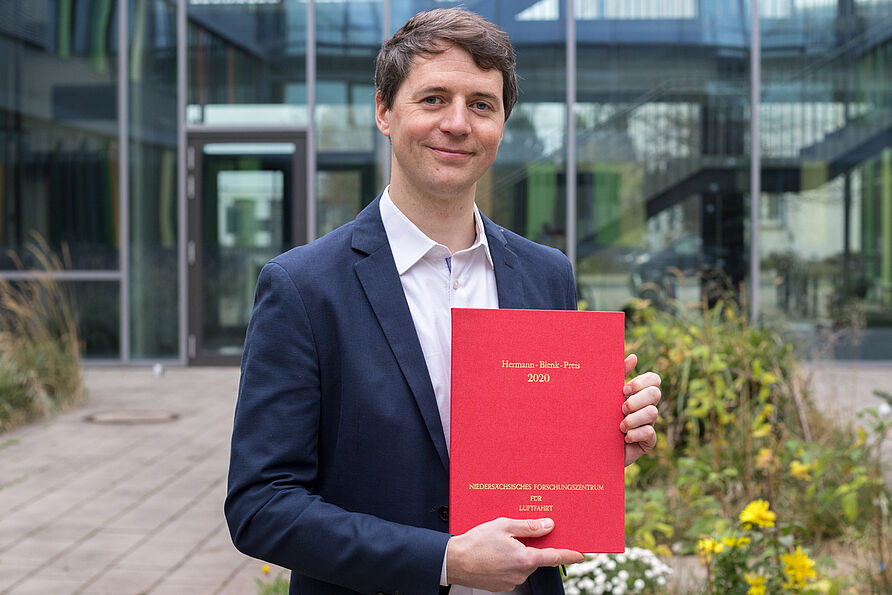 Hermann-Blenk-Forscherpreis für Dr.-Ing. Paul Bernicke