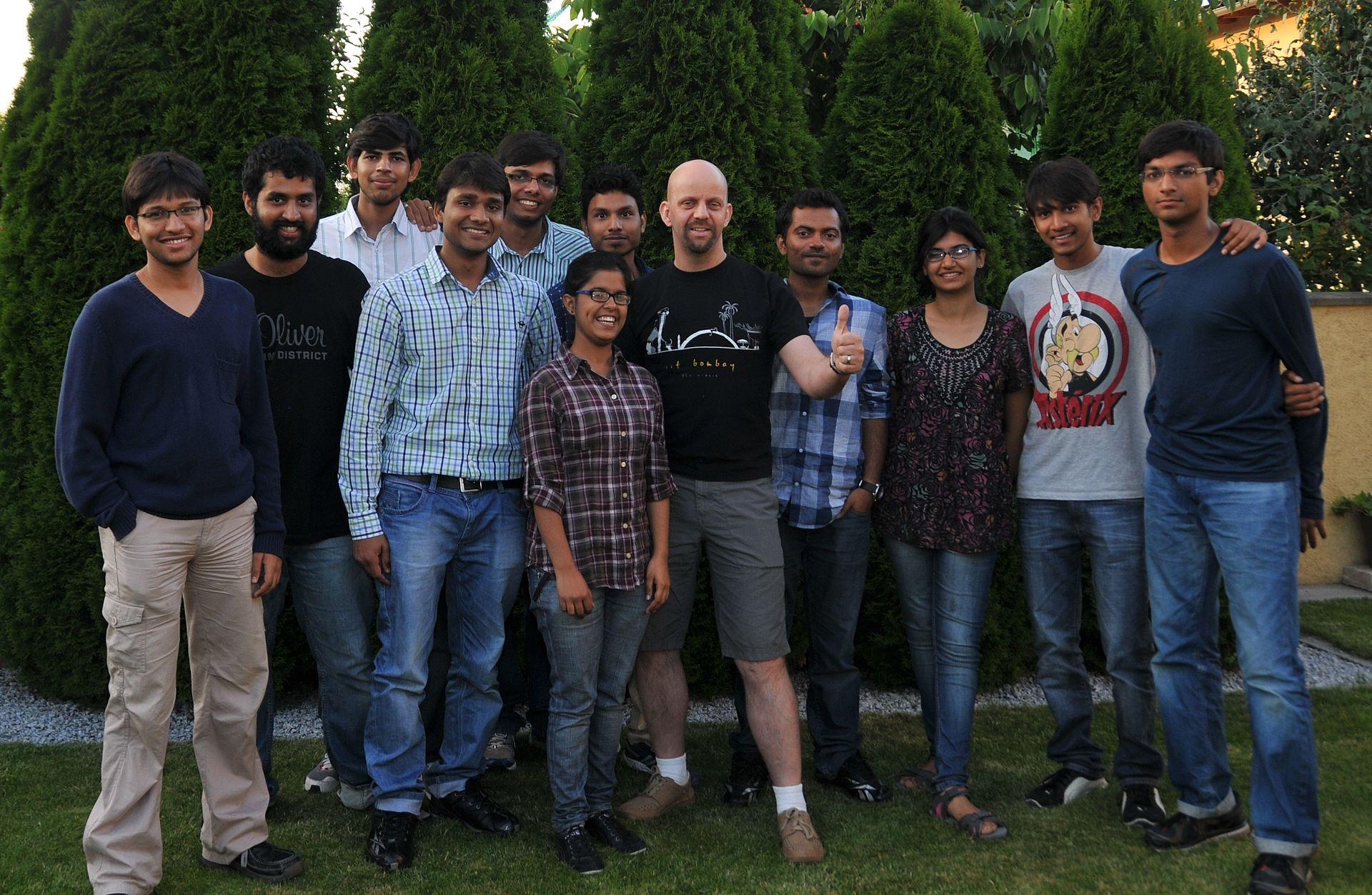 Forschungsaufenthalt Studierende aus Indien 2013