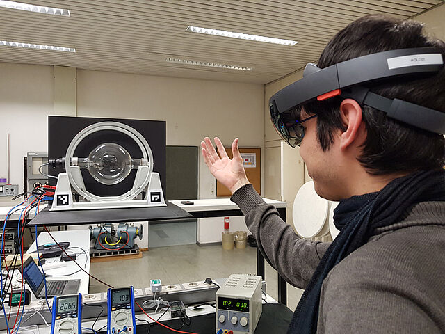 Augmented Reality in der Physik