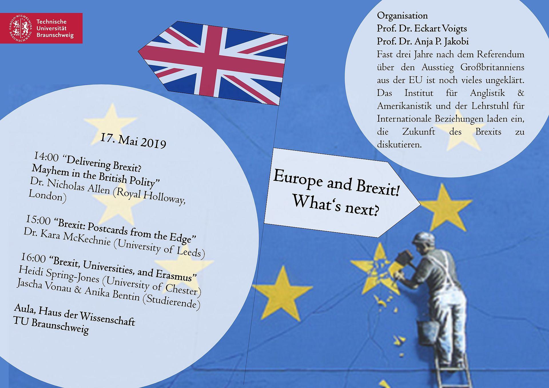 Poster zur Brexitveranstaltung