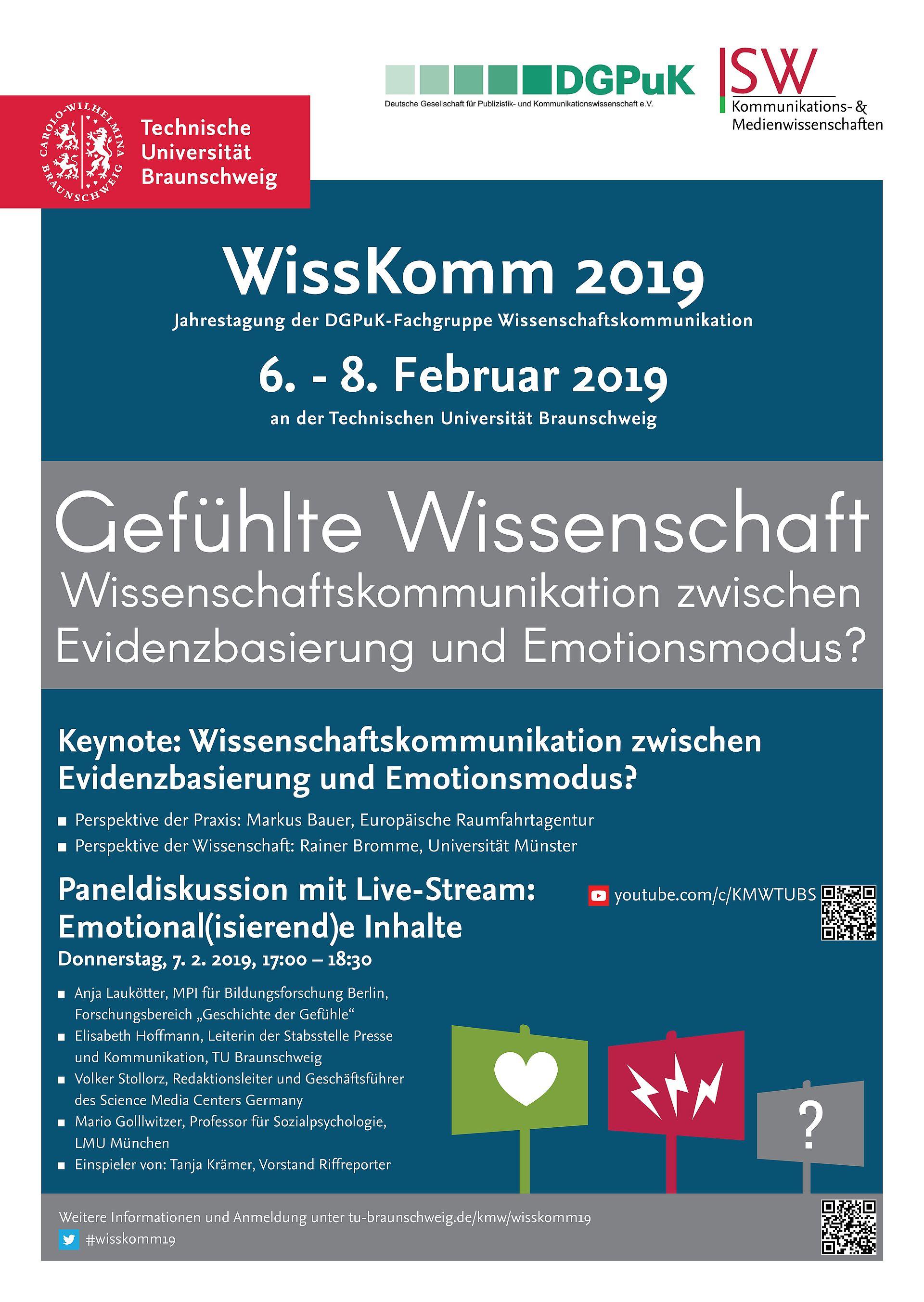 Plakat WissKomm