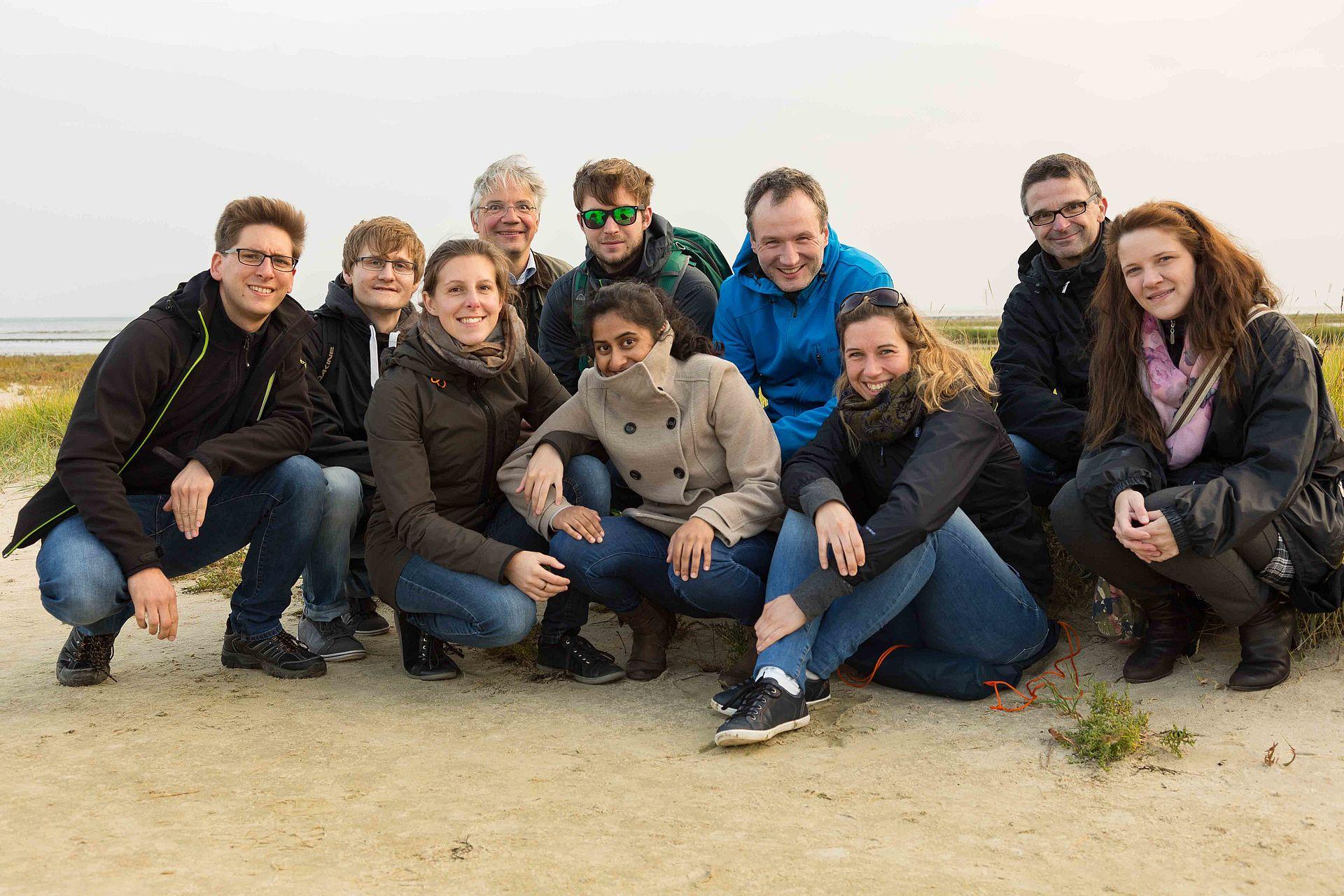 Gruppenfoto AK Baumann